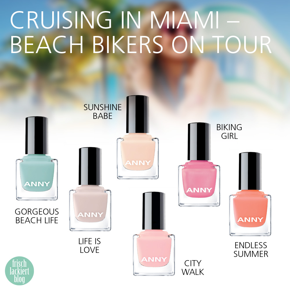 ANNY cruising in miami limited edition LE trendcolours