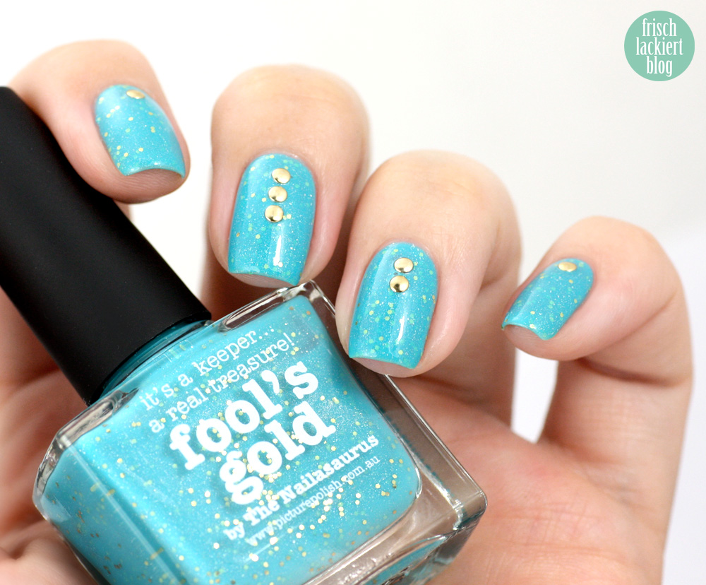 frischlackiert, blog, swatch picture polish fool´s gold