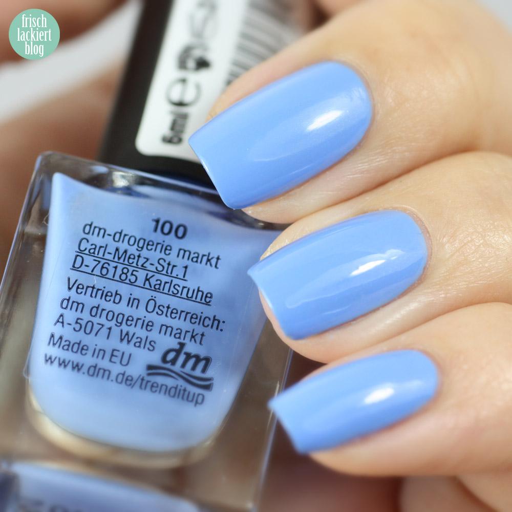 Trend it up 100 Mini Nailpolish, frischlackiert