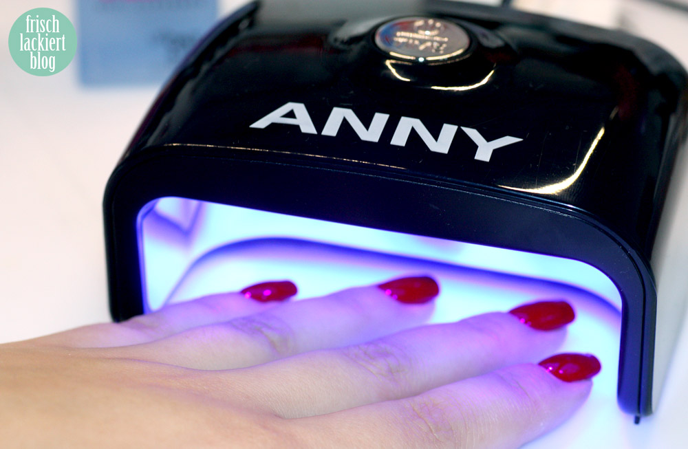 ANNY paint and Go LED Nagellack Secret affairs test vergleich