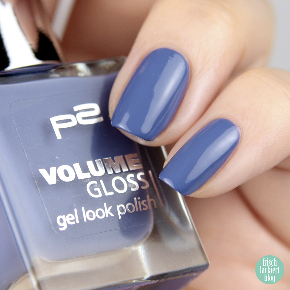 p2 Volume Gloss peace keeper swatch