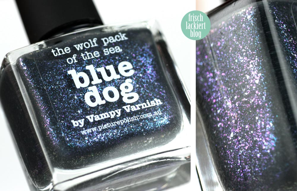 picture polish blue dog