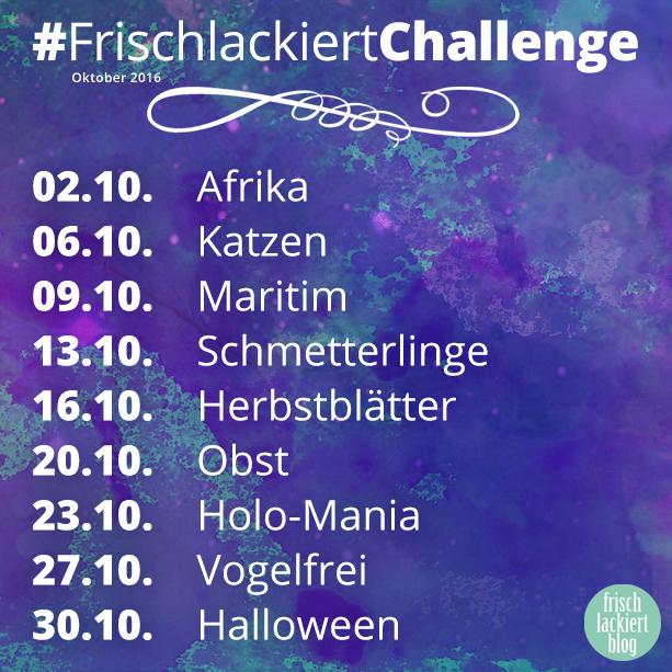 Frischlackiert-Challenge Oktober 2016