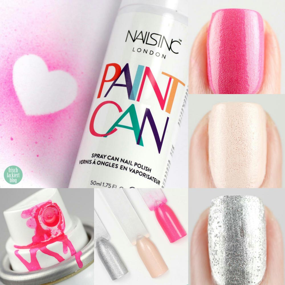 Review} Yes, I can! – Paint Can Spray Nailpolish – Nagellack zum ...