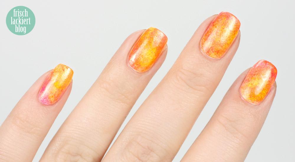tape nailart black and orange - nail vinyls