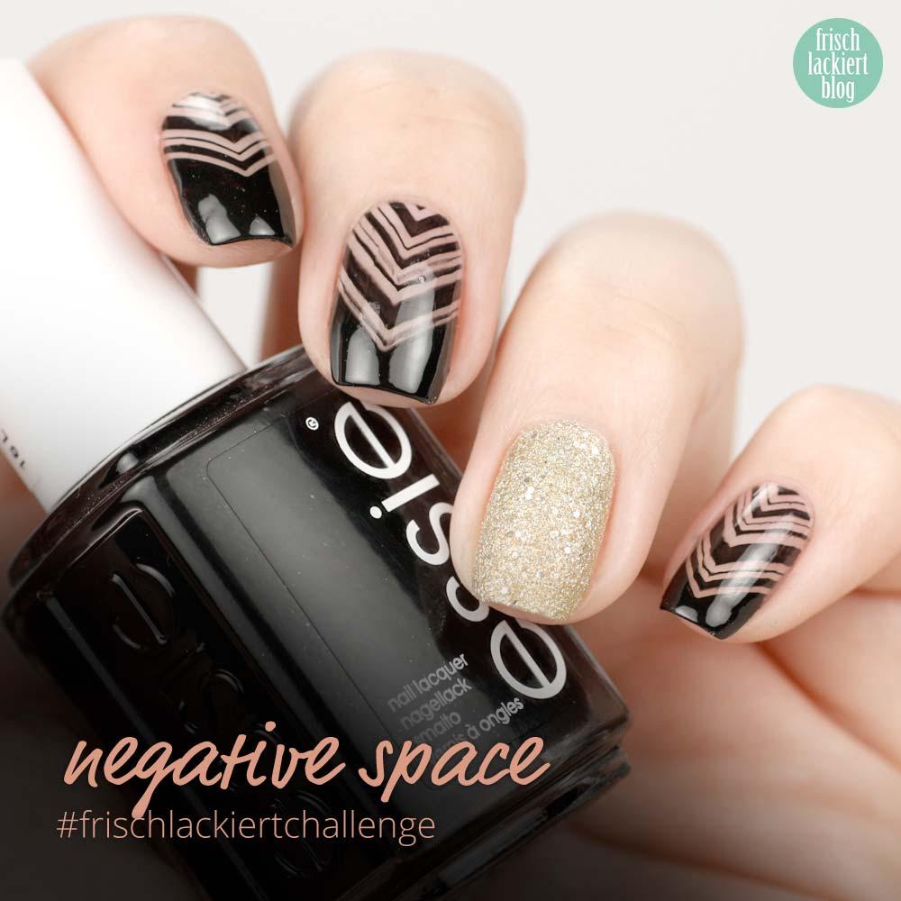 Frischlackiert-Challenge negative space nailart