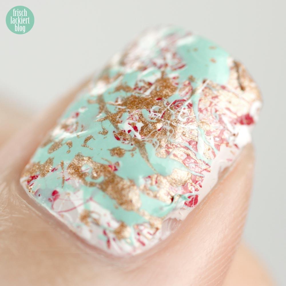 Frischlackiert-Challenge Splatter Nails
