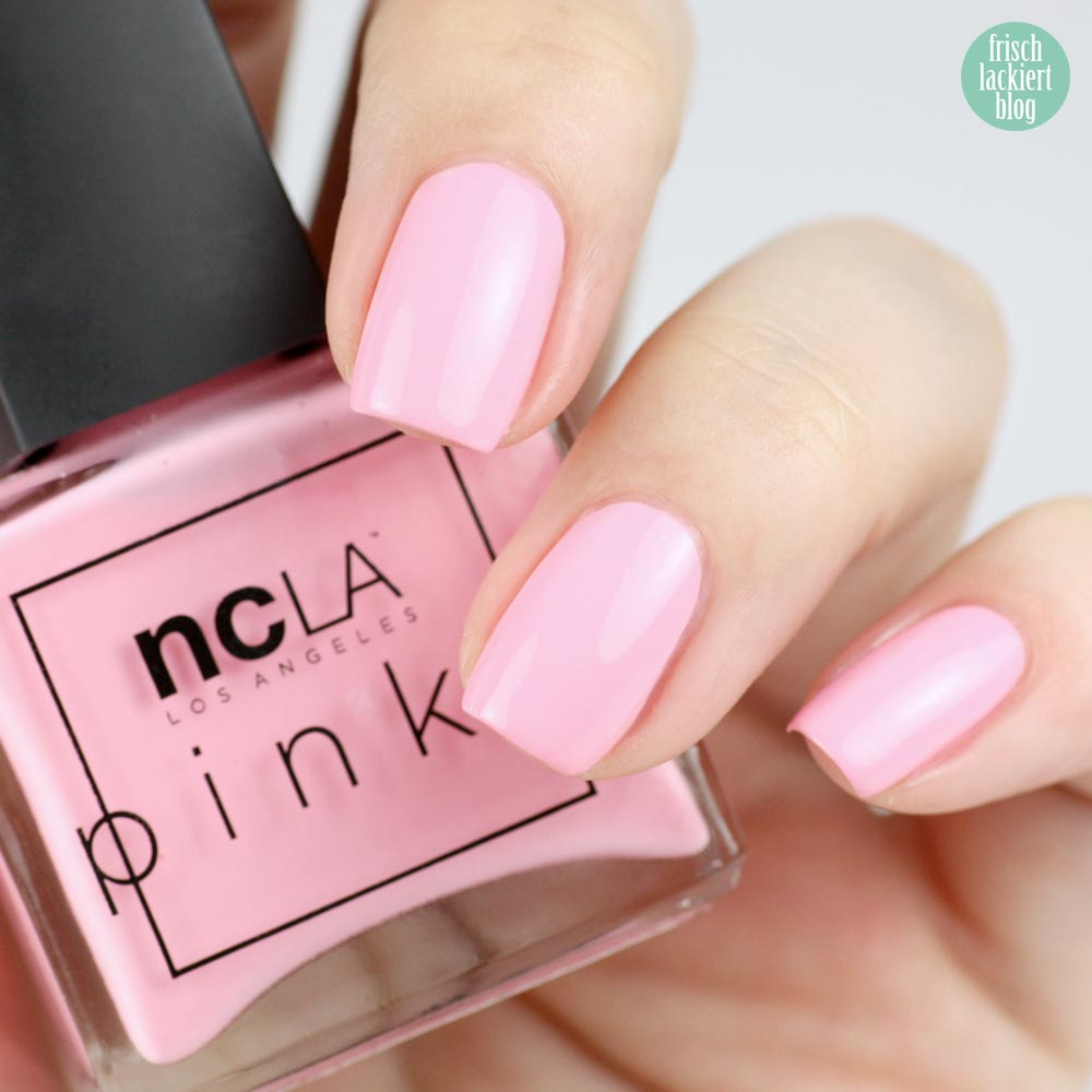 NCLA The Pinks – Bubblegum Pink - swatch by frischlackiert