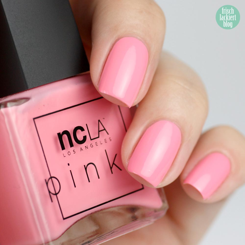 NCLA The Pinks – Pink Flamingo - swatch by frischlackiert