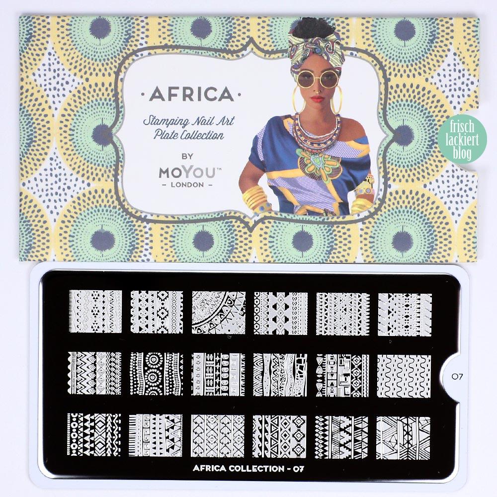 Frischlackiert-Challenge Afrika Nailart – by frischlackiert