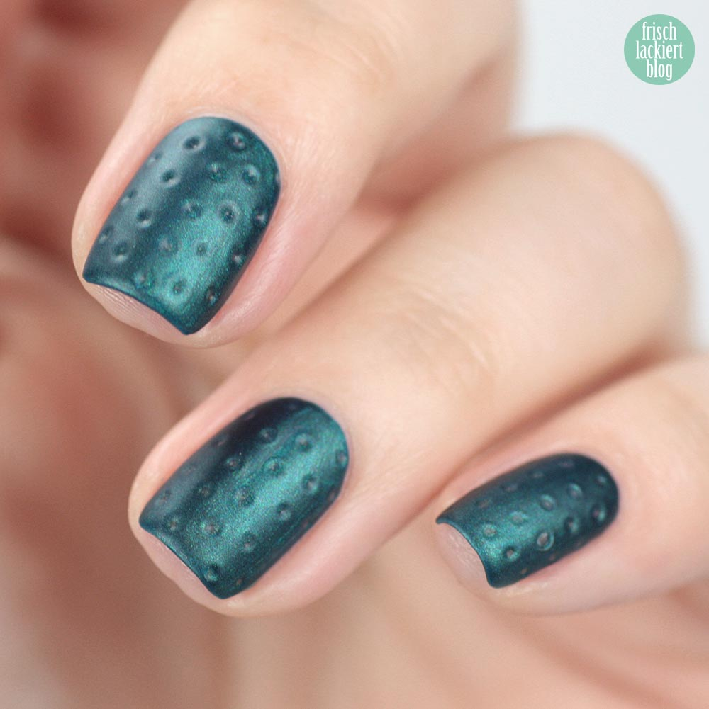 Edding L.A.Q.U.E. Major Midnight Blue – swatch by frischlackiert