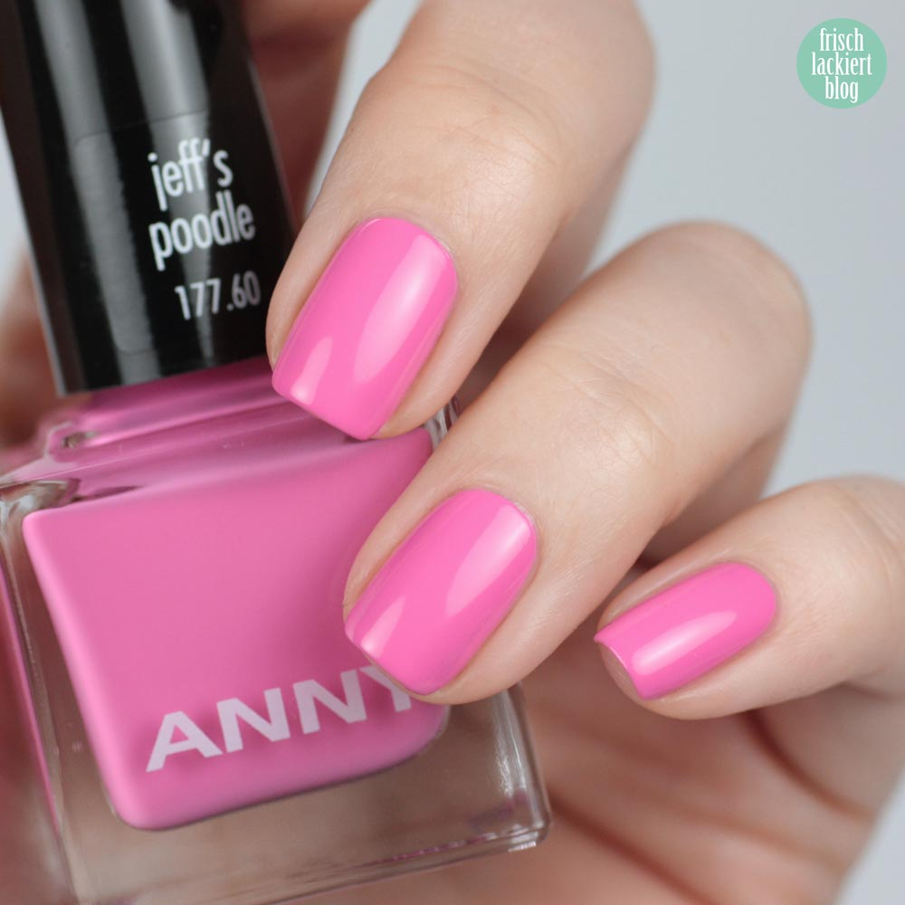 ANNY urban jungle kollektion - jeff´s poodle - swatch by frischlackiert