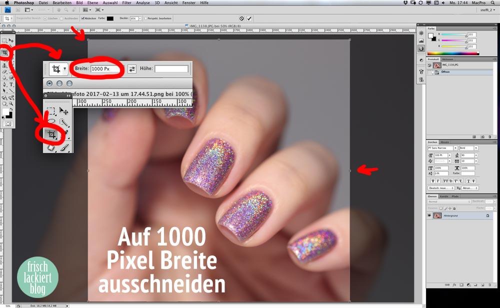 Holografischen Nagellack richtig fotografieren – Blogger Tipps und Tricks – im Photoshop nachbearbeiten – by frischlackiert