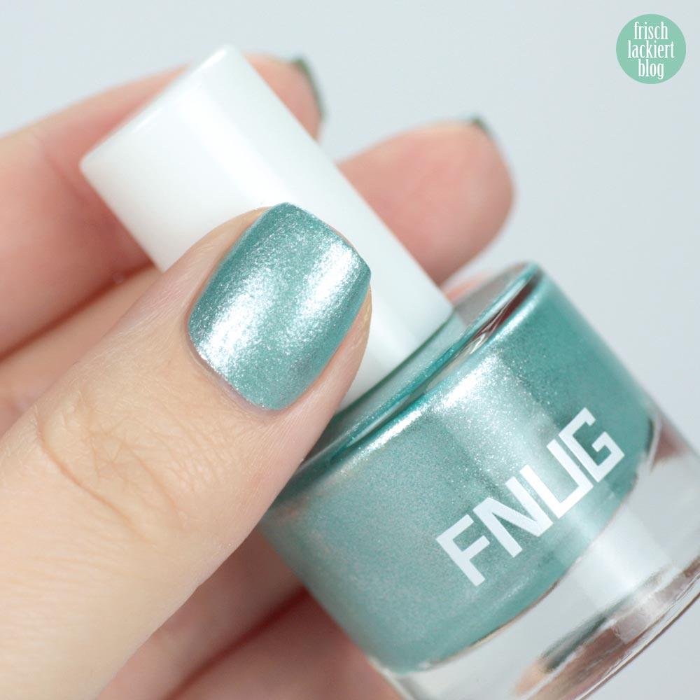 FNUG Euforistica – Blue Ice Nailpolish – swatch by frischlackiert