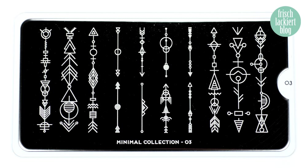 MoYou London Stamping Plate – Minimal Collection 01