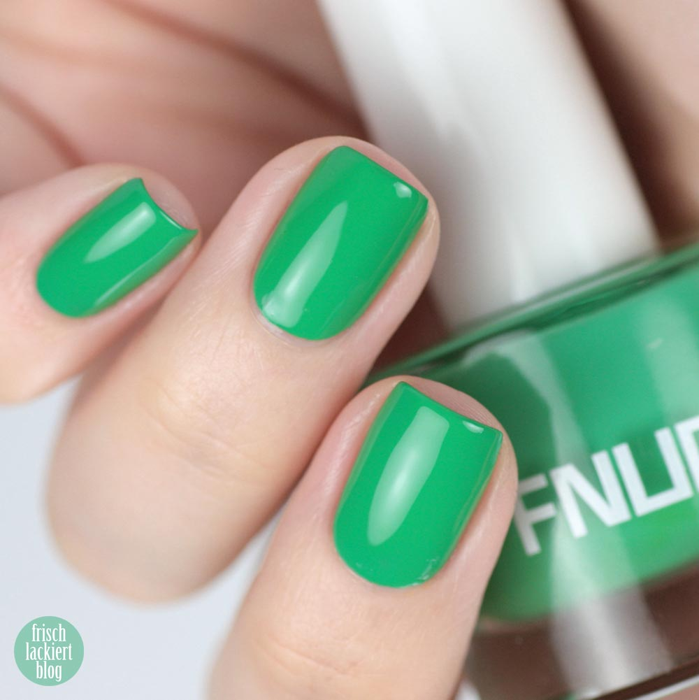 FNUG Hipsters – Green Nailpolish – swatch by frischlackiert