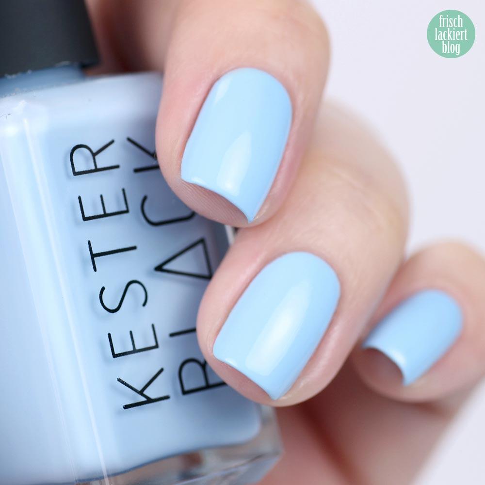 Kester Black Cumulus – Rose Nailart – swatch by frischlackiert