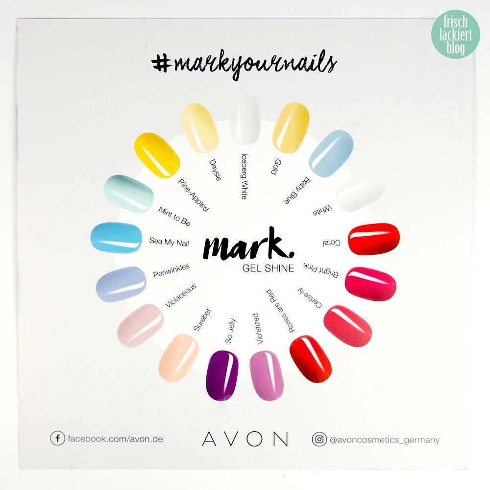 AVON #markyournails Kollektion – nailpolish - by frischlackiert