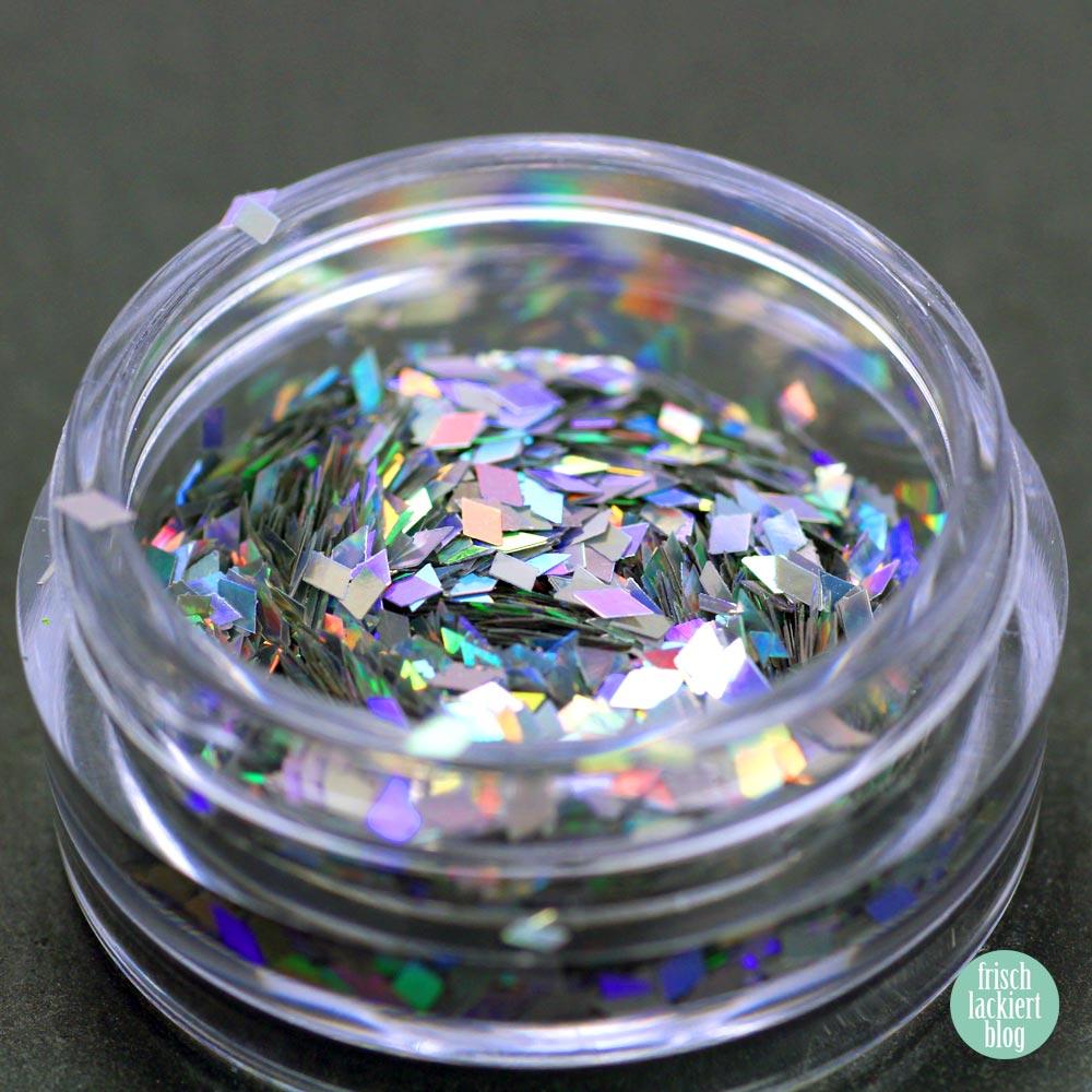 Frischlackiert-Challenge Glitter Placement Nailart - by frischlackiert