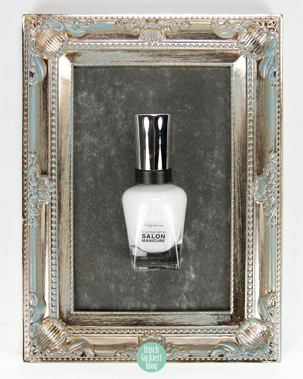 Sally Hansen – Color of the Moment – Sheer – Let´s Snow! – by frischlackiert