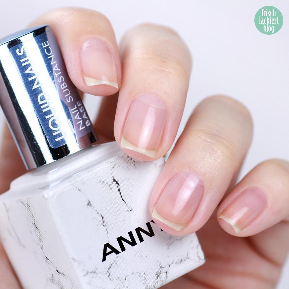 ANNY Liquid Nails Basecoat – Nagelpflege, Pflegelack, Nagelhärter – meine Erfahrungen – frischlackiert
