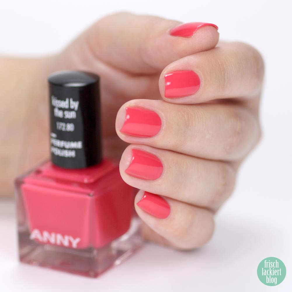 ANNY Perfume Polish – Nagellack mit Duft – kissed by the sun – swatch by frischlackiert