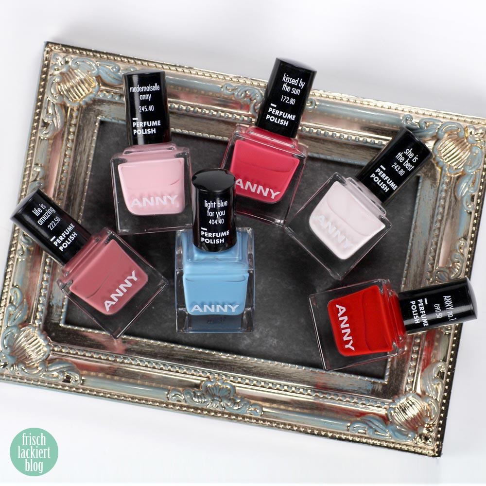 ANNY Perfume Polish – Nagellack mit Duft – swatch by frischlackiert
