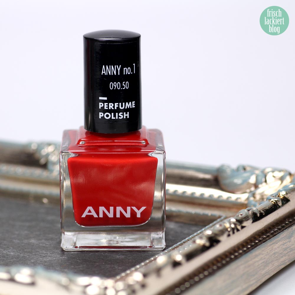 ANNY Perfume Polish – Nagellack mit Duft – anny no 1 – swatch by frischlackiert