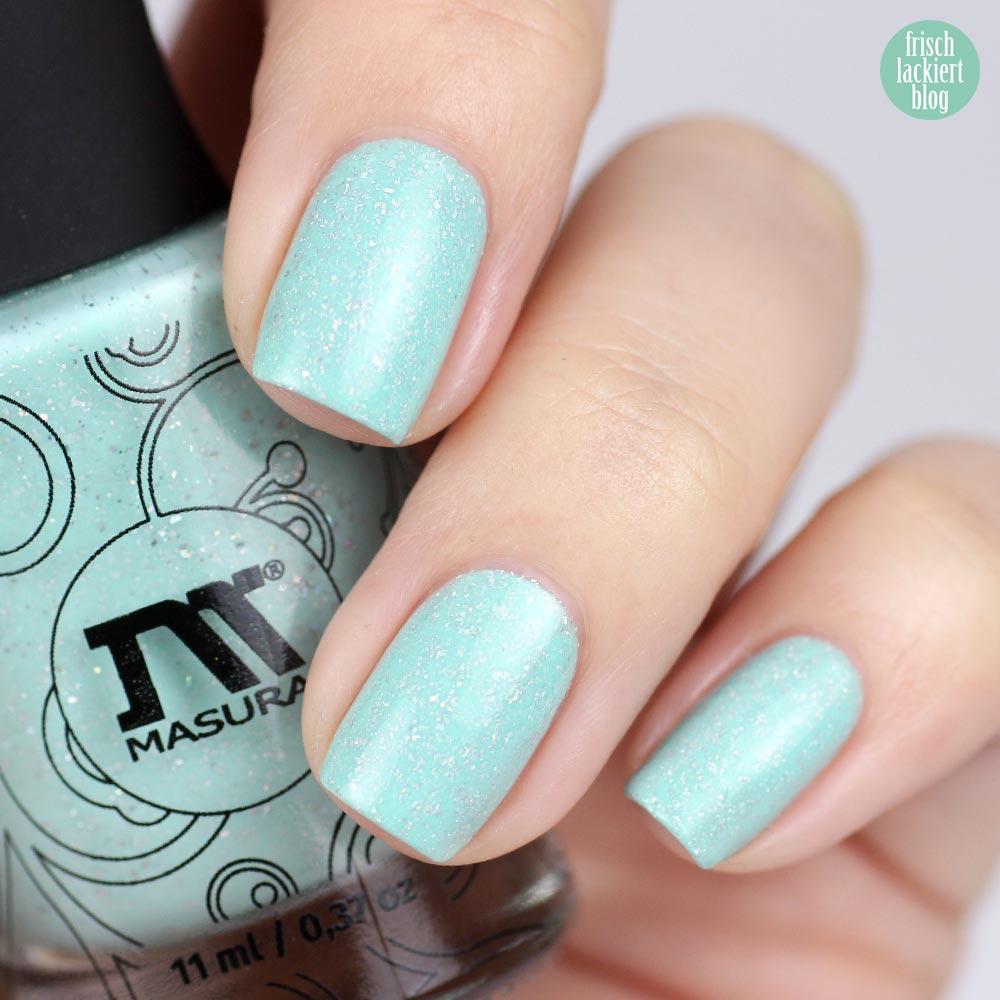 Masura Minty Milk – swatch by frischlackiert