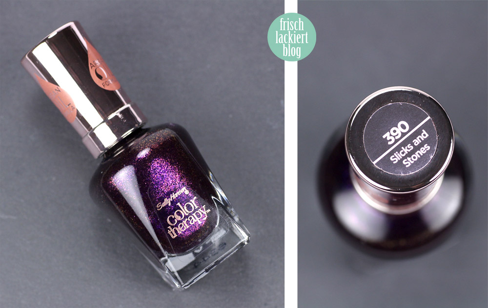 Sally Hansen Color Of The Moment Purple Nailpolish – by frischlackiert