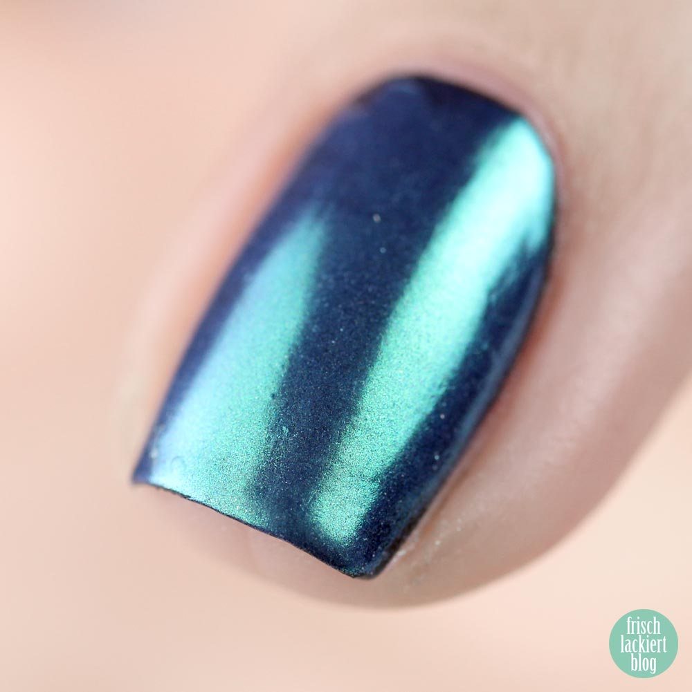 Essence metal shock nail powder – 06 be my little mermaid – test und review – swatch by frischlackiert