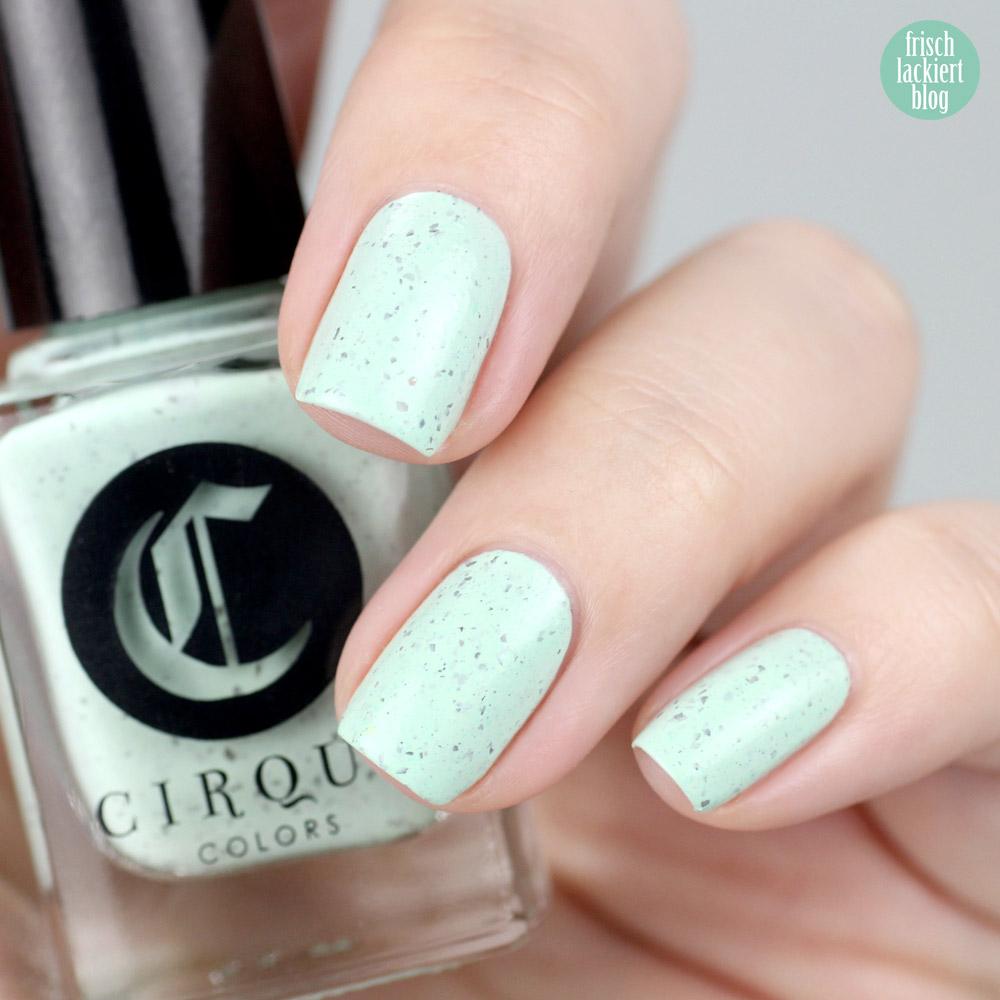 Cirque Nailpolish – Mint Chip – swatch by frischlackiert