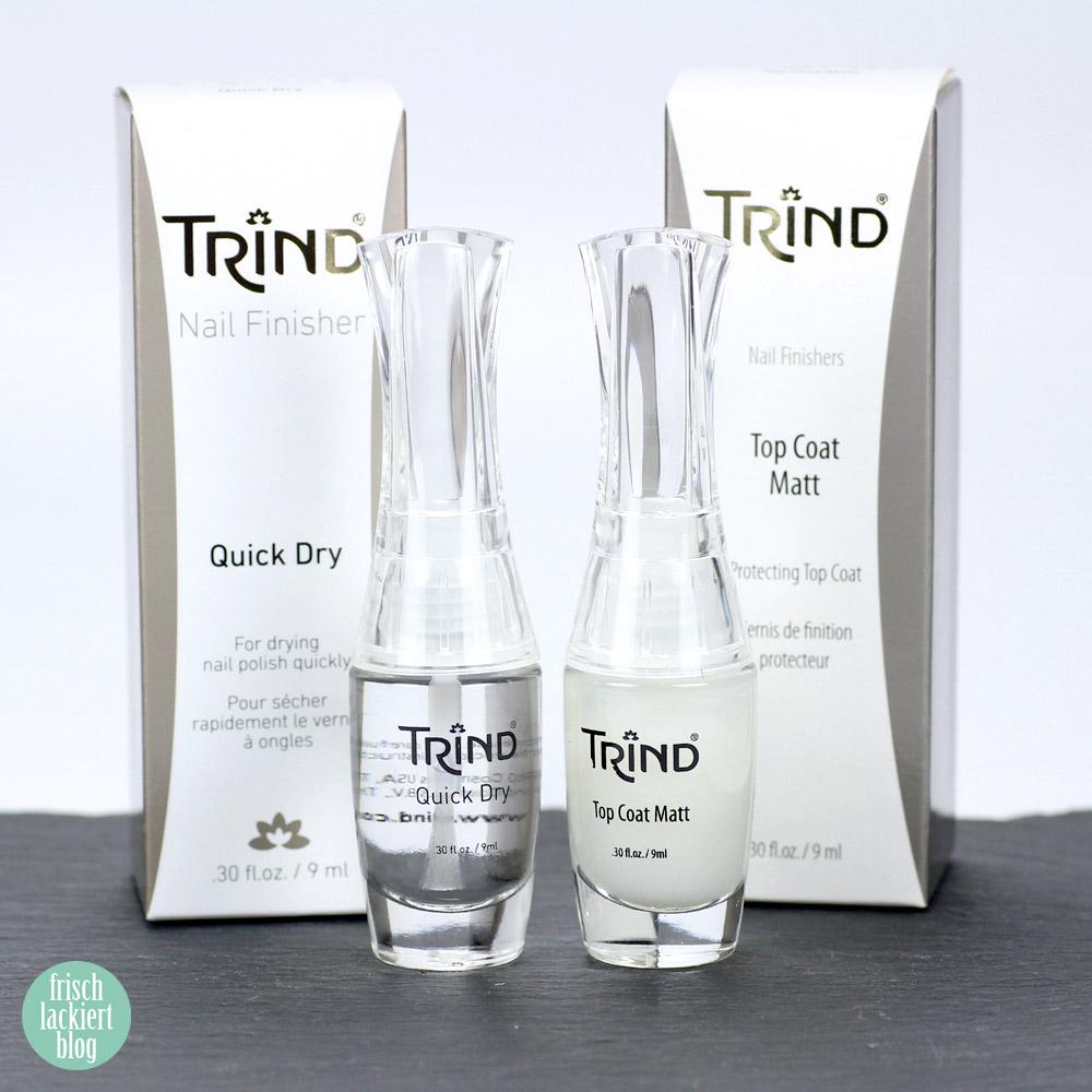 Trind Quick Dry und Topcoat matt – by frischlackiert