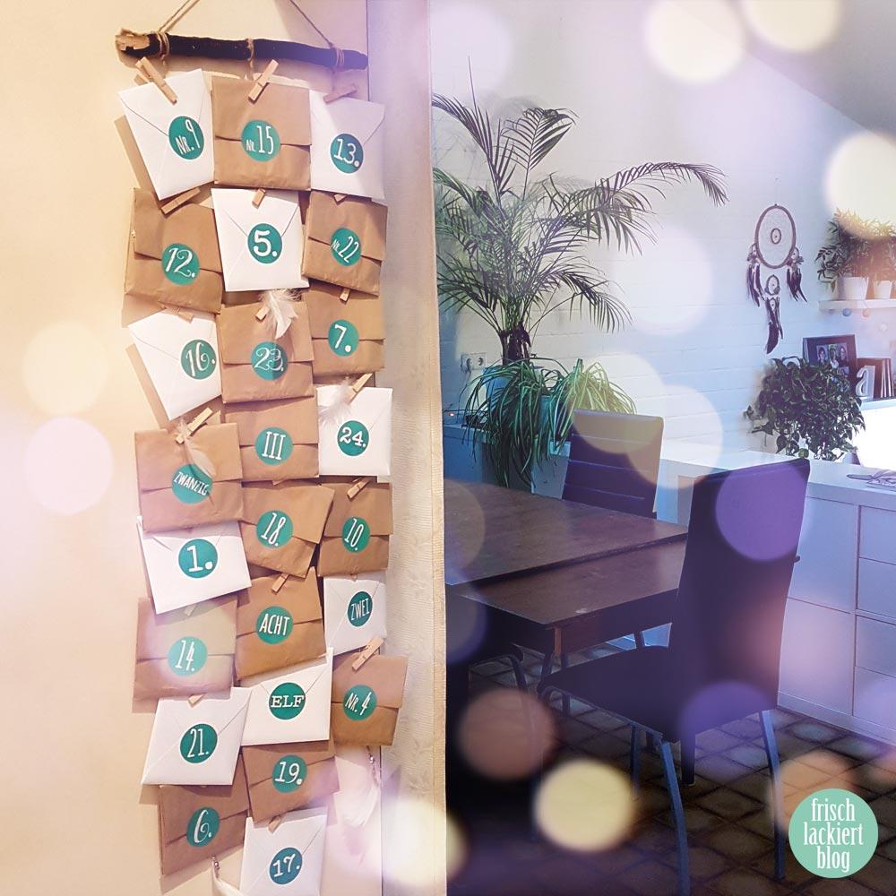 Sticker Gigant Adventskalender - by frischlackiert