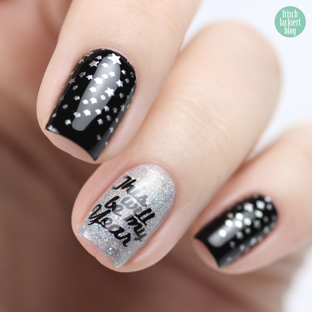 This will be my year – Silvester Nailart mit Orly Mirrorball - by frischlackiert