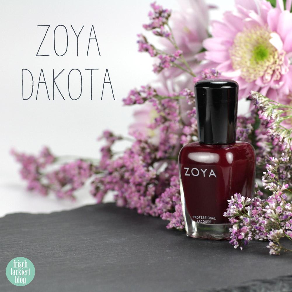 Zoya Dakota – purish.de – dunkelroter Nagellack – beerenfarben – swatch by frischlackiert