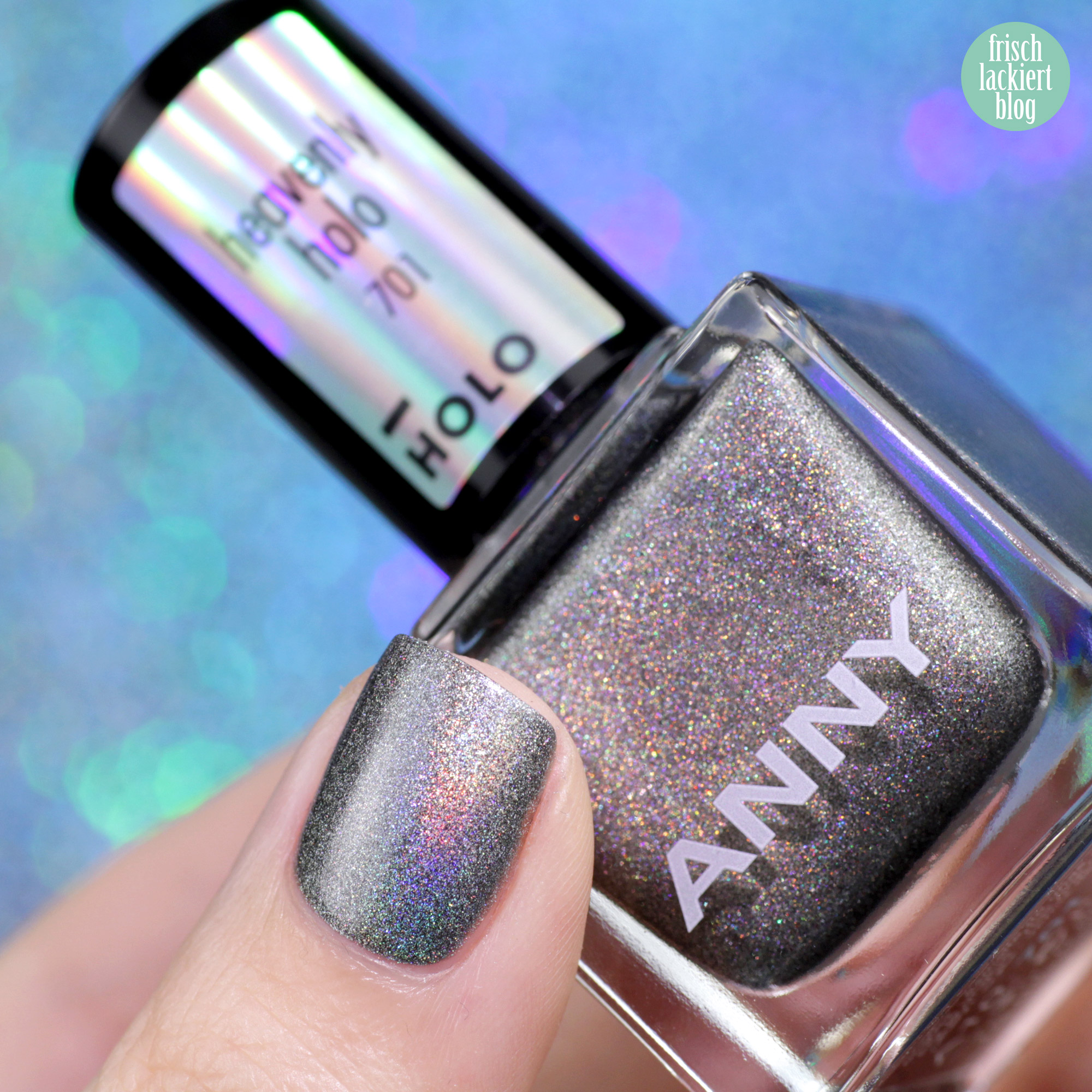 ANNY Holo it´s ANNY Nagellack Kollektion - heavenly holo - swatch by frischlackiert