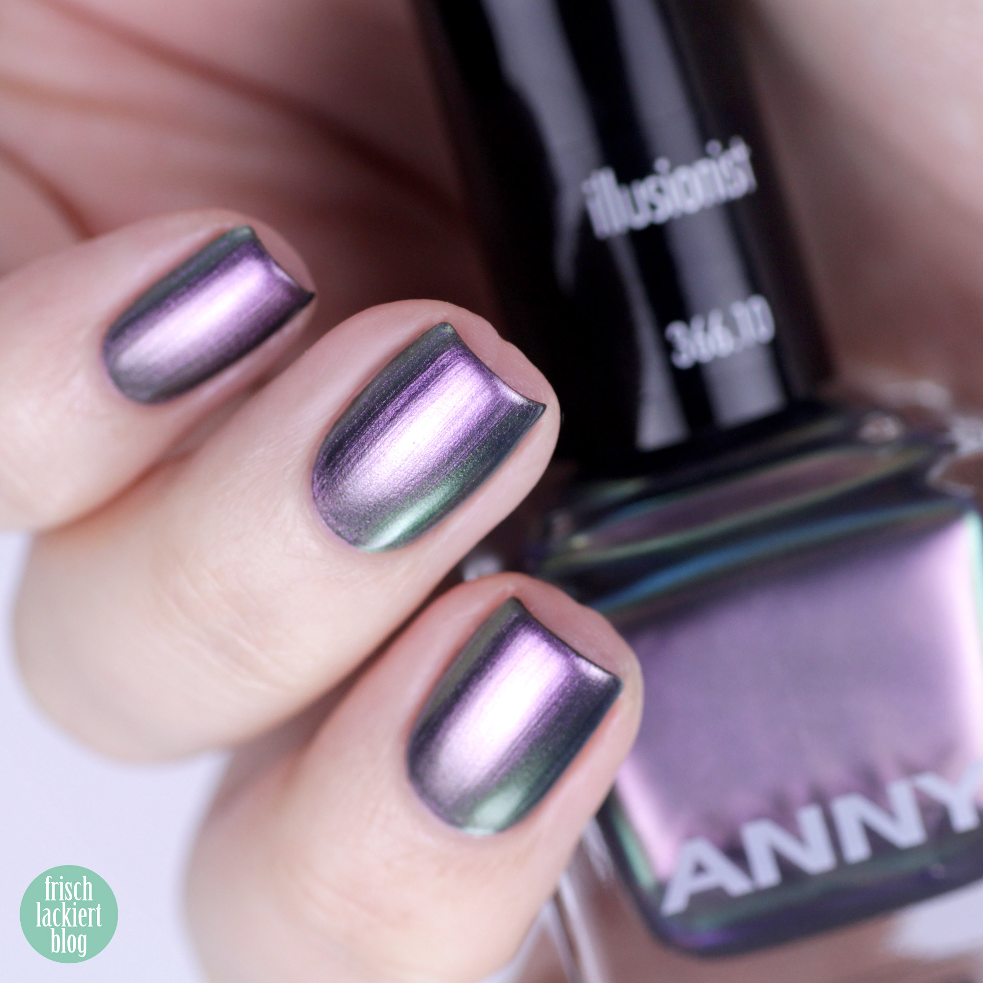 ANNY Holo it´s ANNY Nagellack Kollektion - illusionist – swatch by frischlackiert