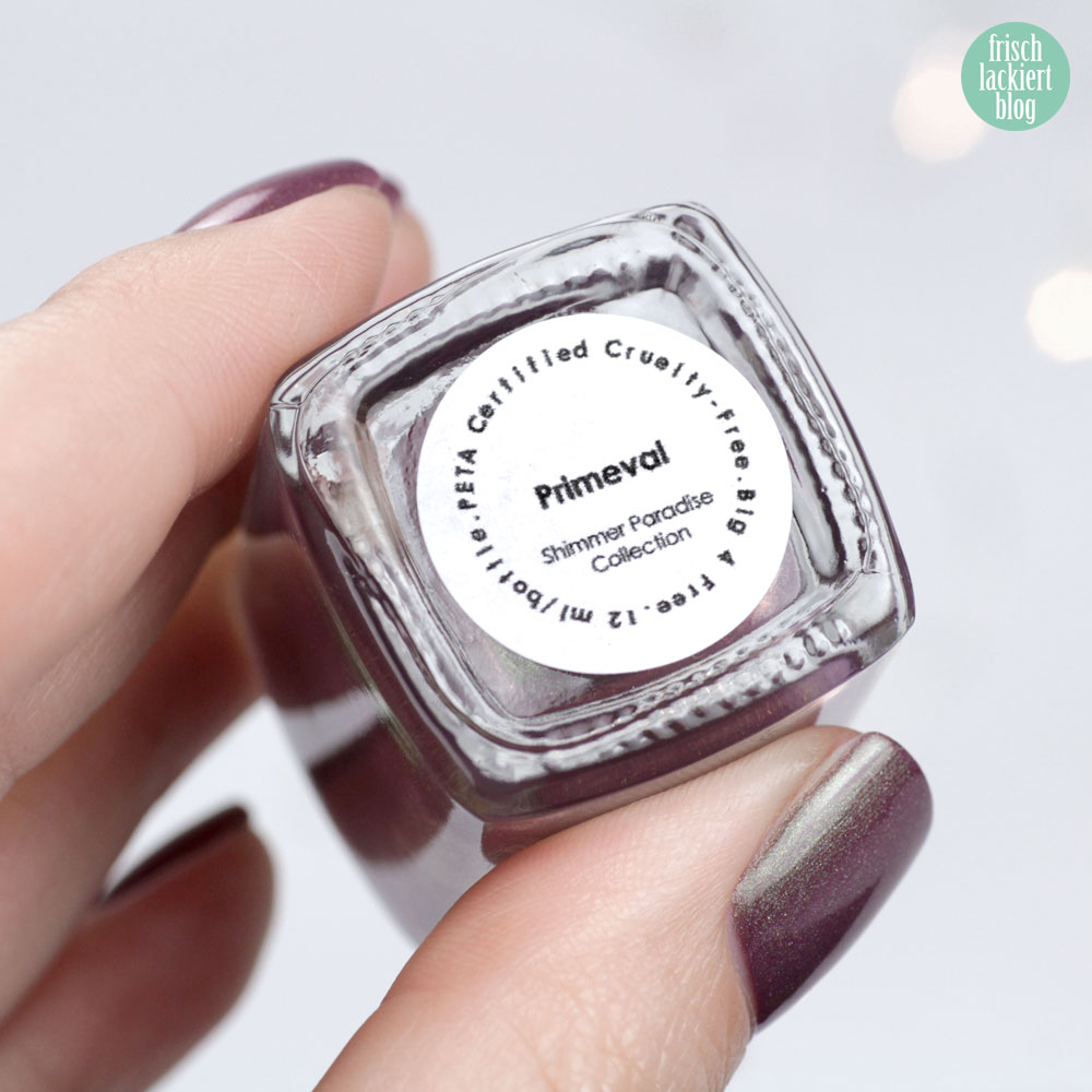 Moo Moo´s Signatures – Primeval – Shimmer Paradise Collection – holographic nailpolish – by frischlackiert