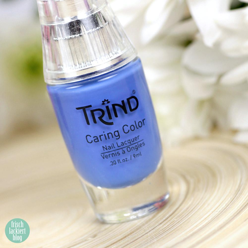Trind Cosmetics – Welcome to Miami Kollektion / Frühling Sommer 2018 – Nagellack – Ocean Drive – Blau – swatch by frischlackiert