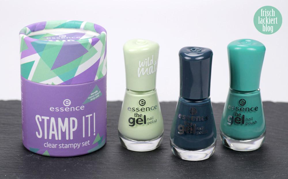 Das neue STAMP IT! Set von Essence – clear Stamper Review / Erfahrungsbericht / Test – Stamping Nailart - by frischlackiert
