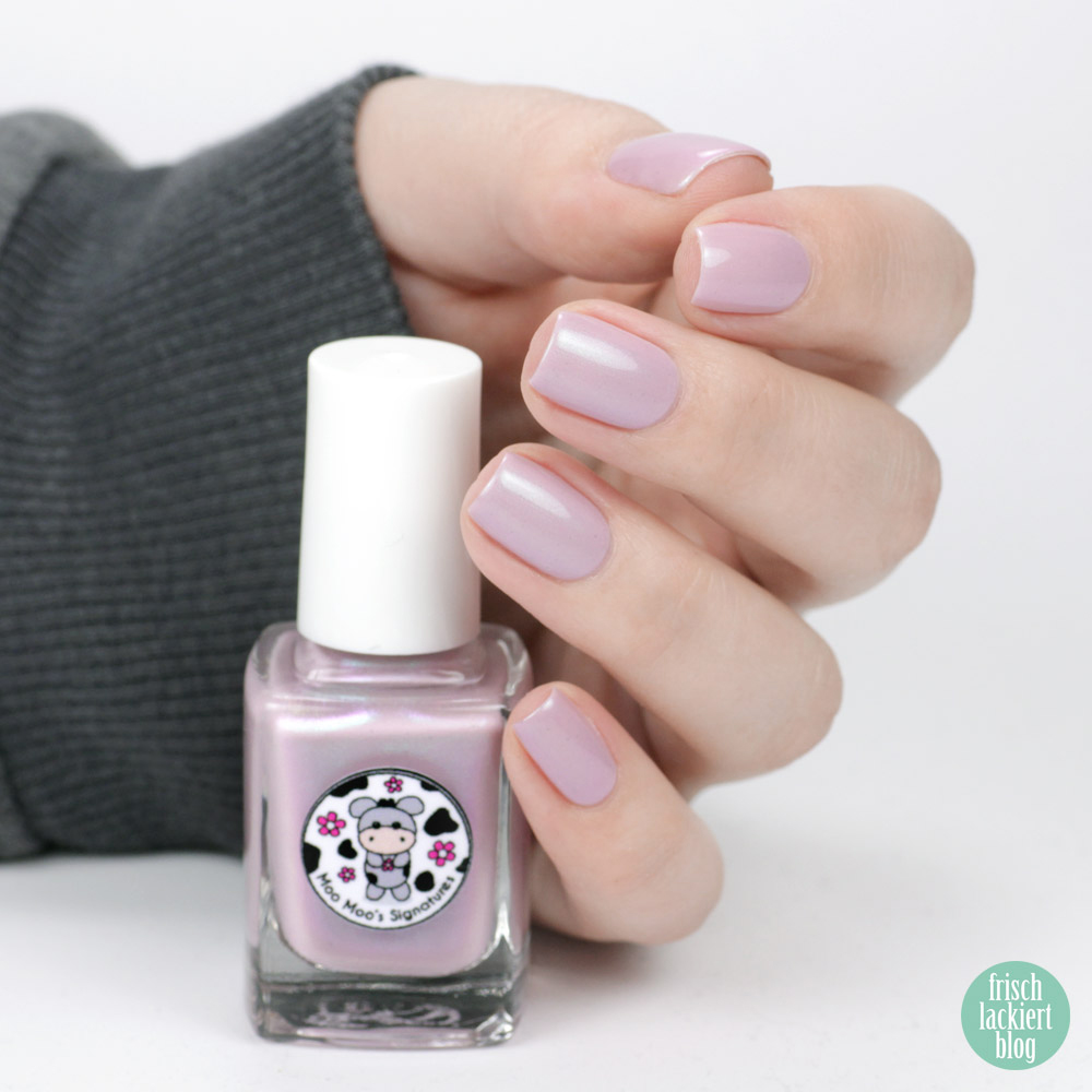 Moontain Laurel – Moo Moo´s Signature - exclusive by color4nails – 10 days only - purple nailpolish – swatch by frischlackiert