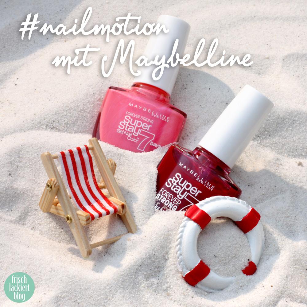 frischlackiert, #nailmotion mit maybelline