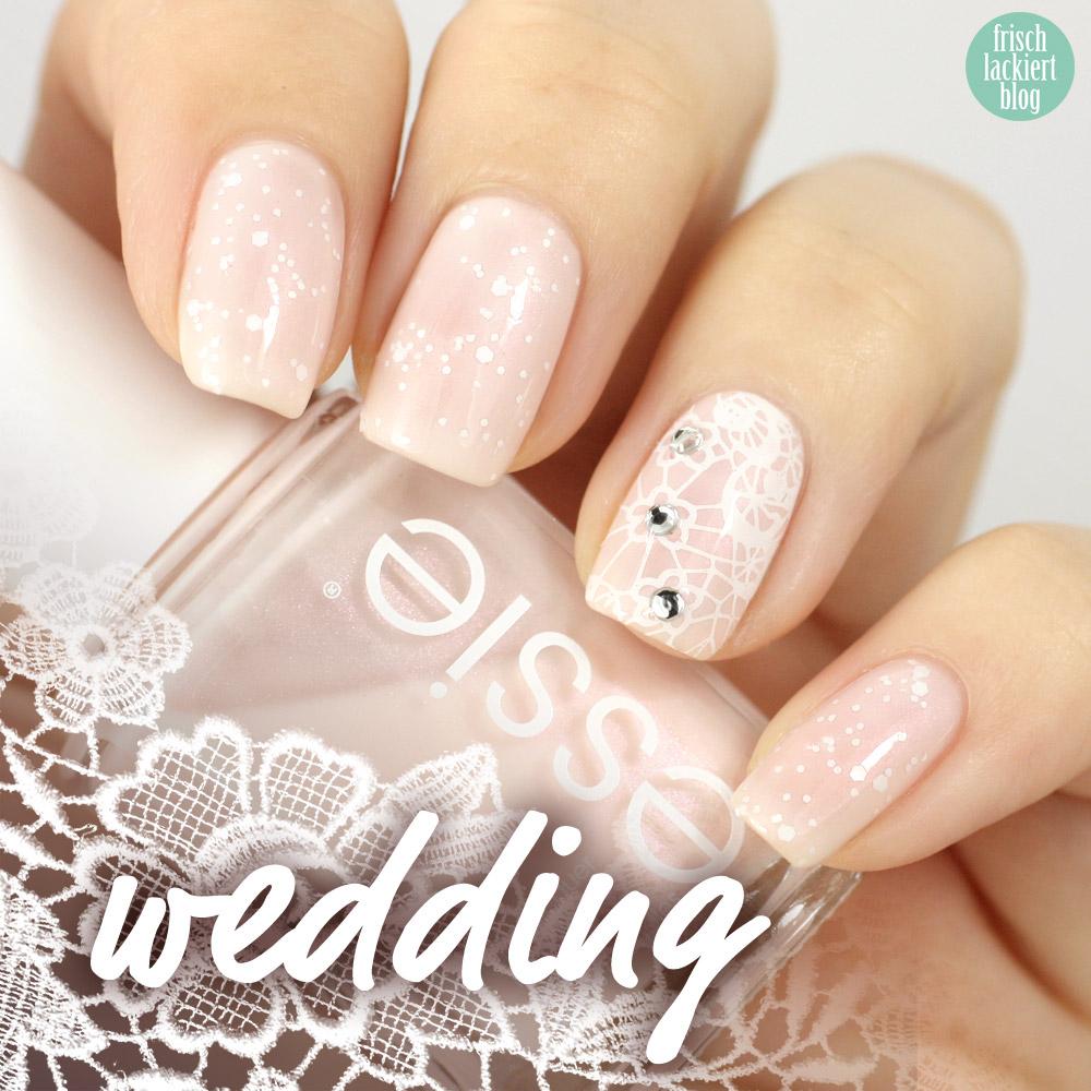 frischlackiert, blog, essie time for me time, wedding nailart hochzeit