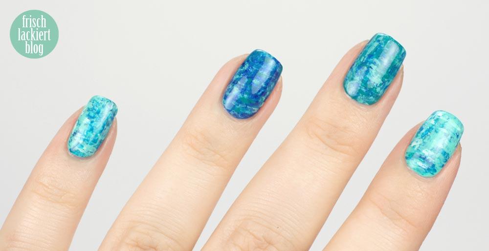 Zahnseidesticks Nailart – Twinnails Frischlackiert und Nailsreloaded