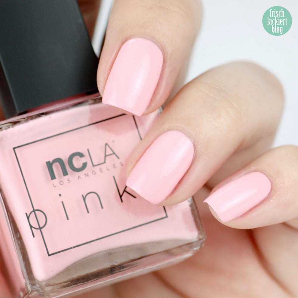 NCLA The Pinks – Pink Lemonade - swatch by frischlackiert