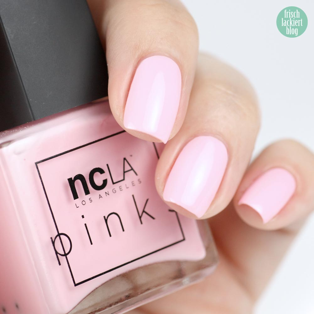 NCLA The Pinks – Cherry Blossom Pink - swatch by frischlackiert