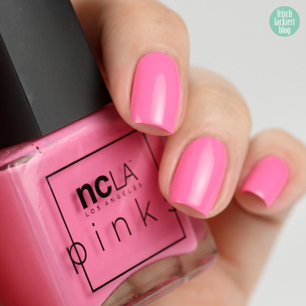 NCLA The Pinks – Pink Caddy - swatch by frischlackiert