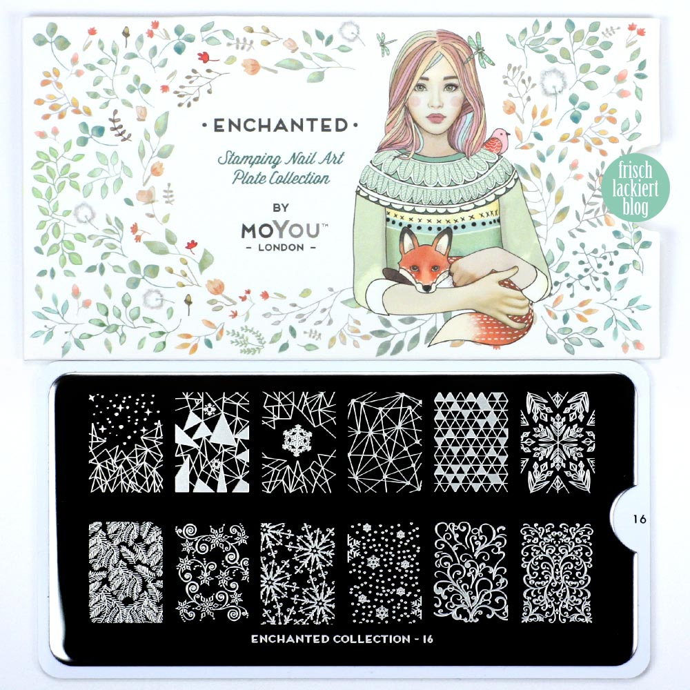 MoYou Stamping Plate Enchanted 16