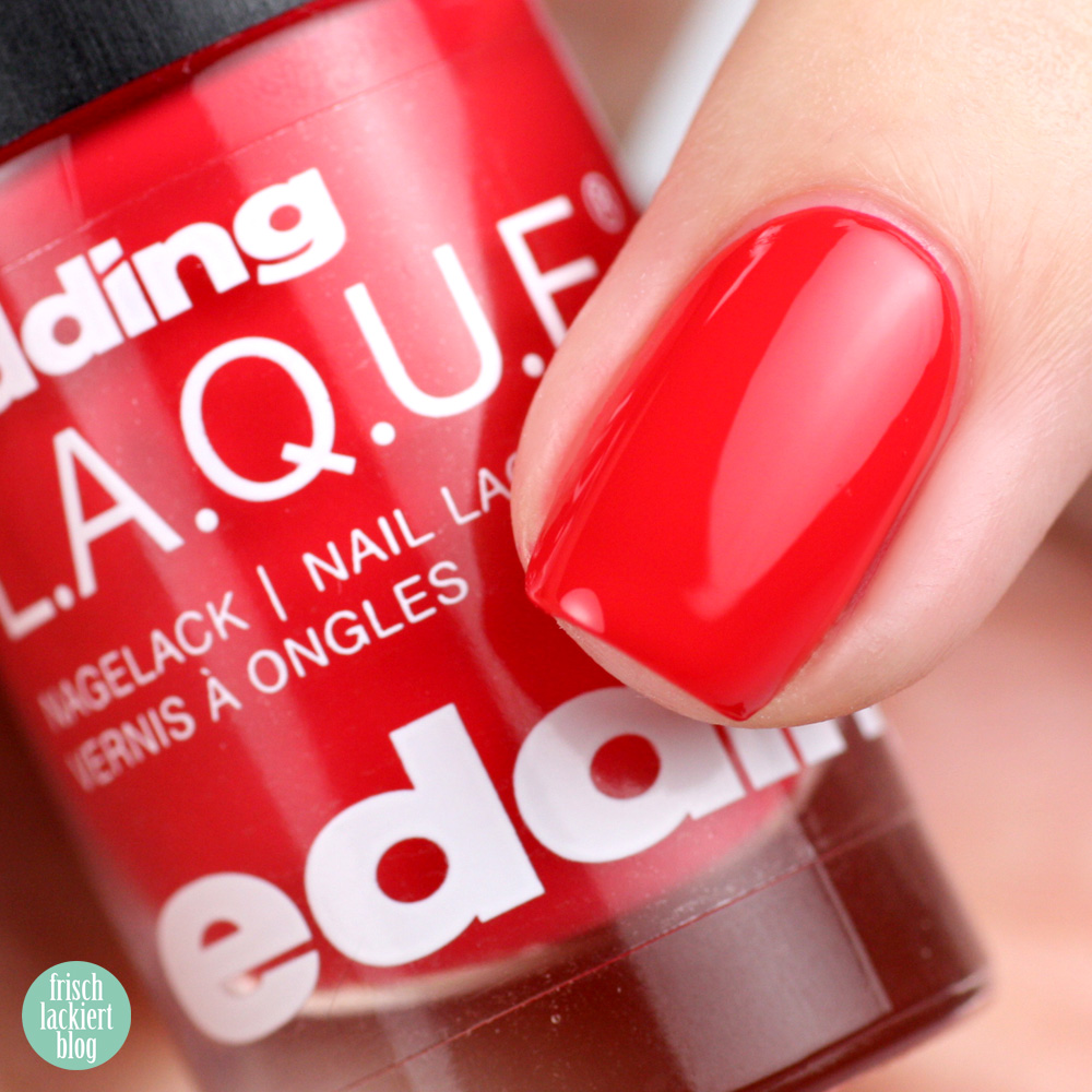 Edding L.A.Q.U.E. – Sommerset Colour E.X.P.L.O.S.I.O.N. – Rock it Red – swatch by frischlackiert